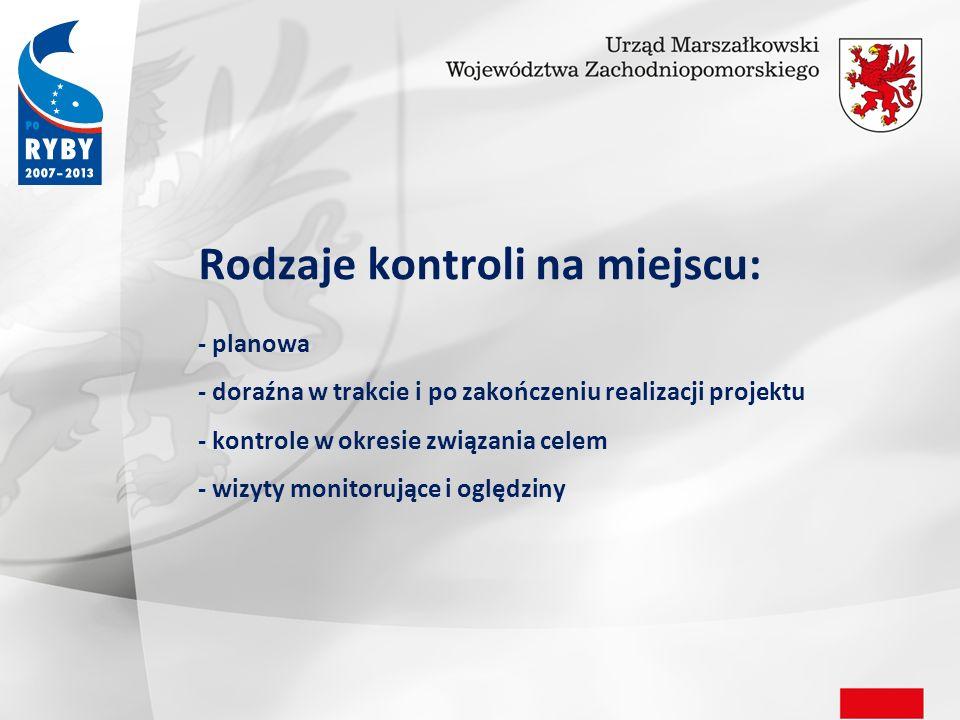 Weryfikacja prawidłowości realizacji projektu obejmuje sprawdzenie: 1.