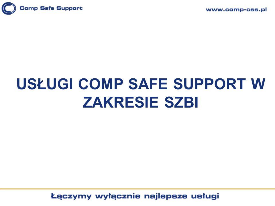 USŁUGI COMP SAFE SUPPORT W ZAKRESIE SZBI