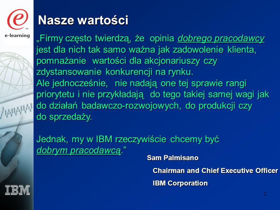 e-learning 3 Dlaczego IBM wspiera programy na rzecz równowagi między pracą a życiem .