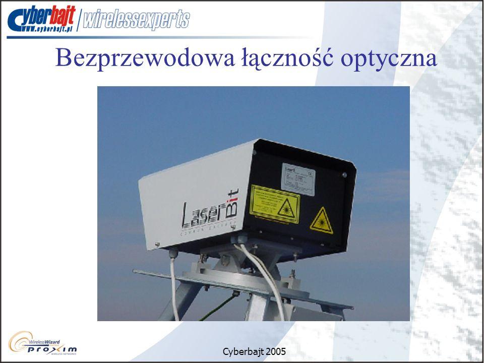 Cyberbajt 2005 Bezprzewodowa łączność optyczna
