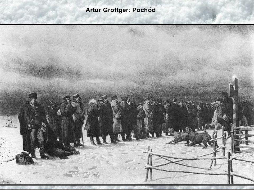 Artur Grottger: Pochód na Sybir