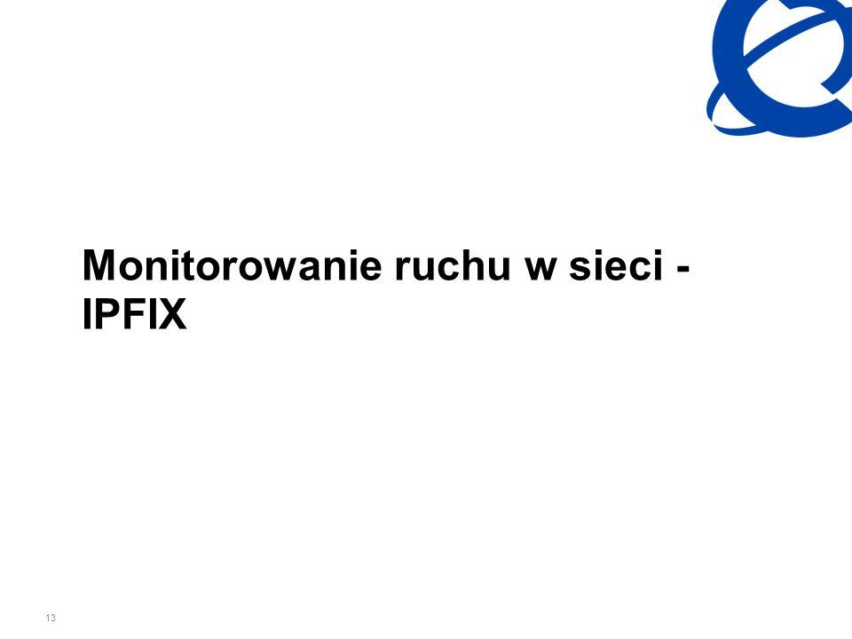 13 Monitorowanie ruchu w sieci - IPFIX