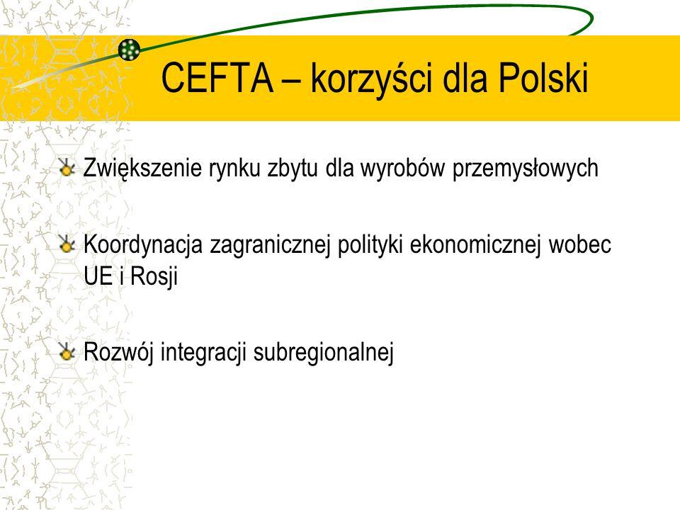 Zakres umowy Przepisy ogólne Porozumienie zawiera przepisy ogólne, które obejmują min.: Reguły pochodzenia oraz współprace administracji celnych Opoda