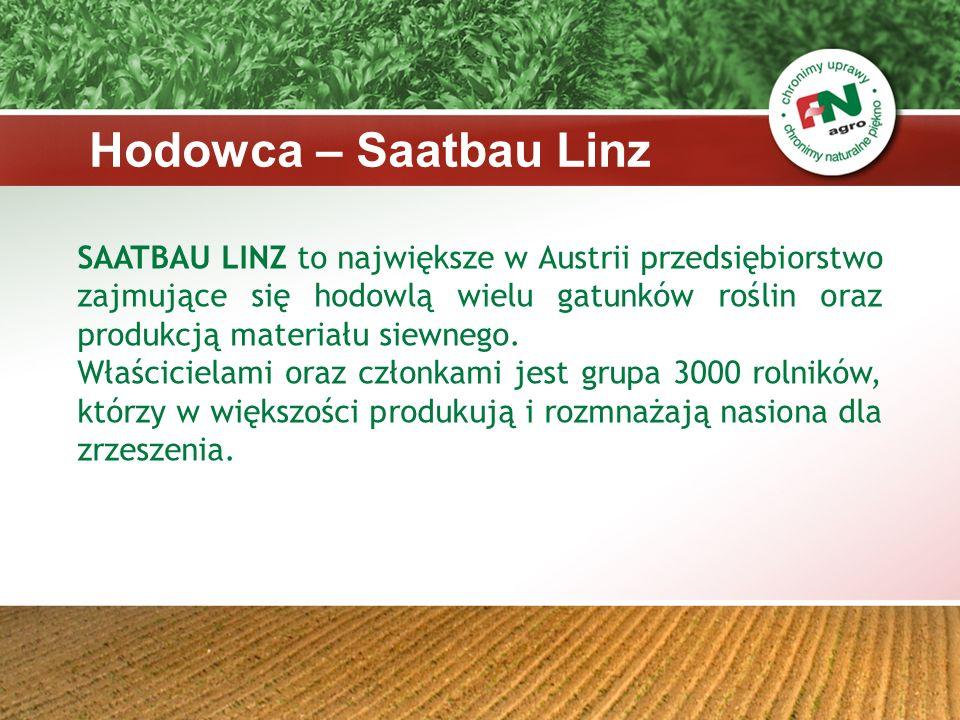 Dzięki własnej hodowli oraz ścisłej współpracy z innymi hodowcami SAATBAU LINZ może zaoferować szeroki wachlarz odmian różnych gatunków dla każdego z rolników.