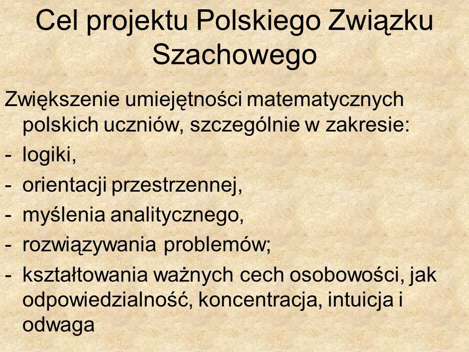 Zwiększenie umiejętności matematycznych polskich uczniów, szczególnie w zakresie: -logiki, -orientacji przestrzennej, -myślenia analitycznego, -rozwią