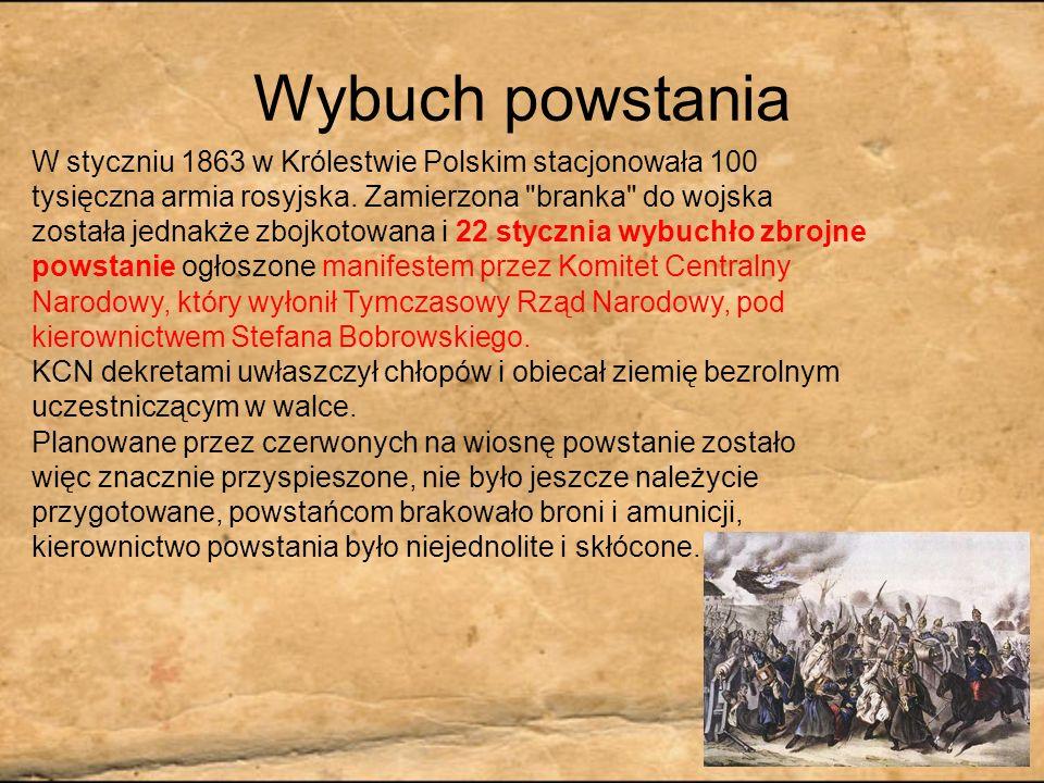 Tadeusz Ajdukiewicz: Scena z powstania styczniowego