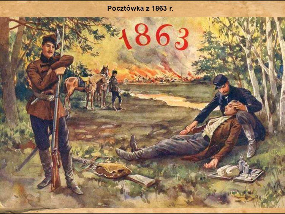 Romuald Traugutt – najważniejsza postać powstania Po upadku rządu czerwonych 17 października 1863 Romuald Traugutt został dowódcą powstania.