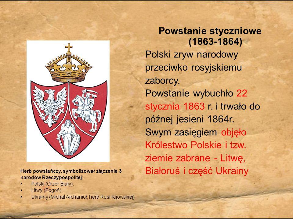 Bitwy W czasie powstania styczniowego ogółem stoczono 1229 bitew i drobnych potyczek