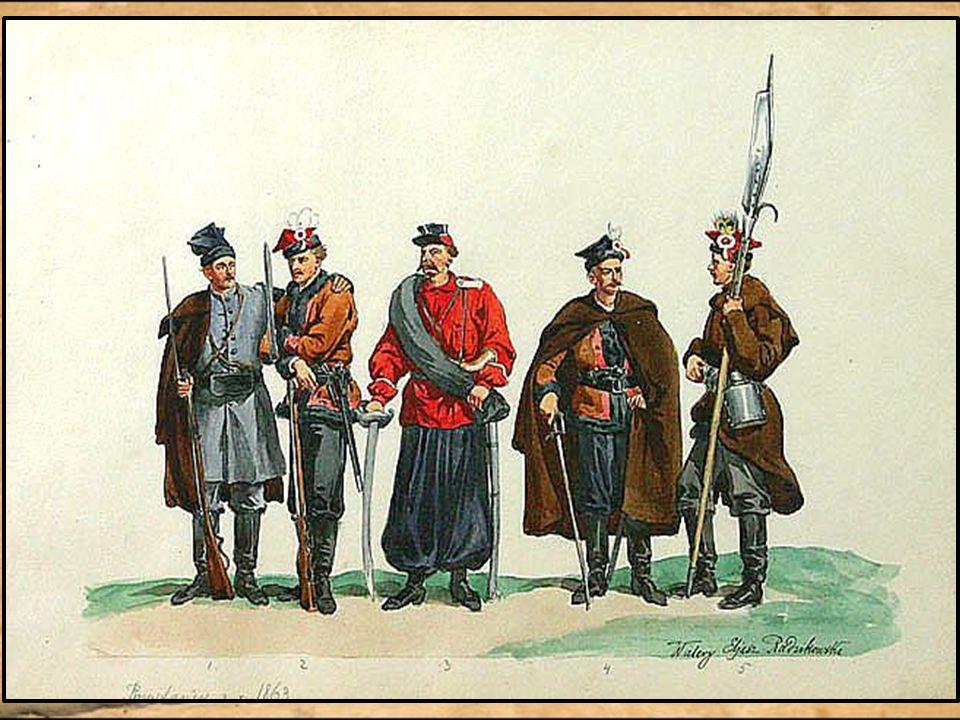 Romuald Traugutt – najważniejsza postać powstania Po upadku rządu czerwonych 17 października 1863 Romuald Traugutt został dowódcą powstania. Jego przy