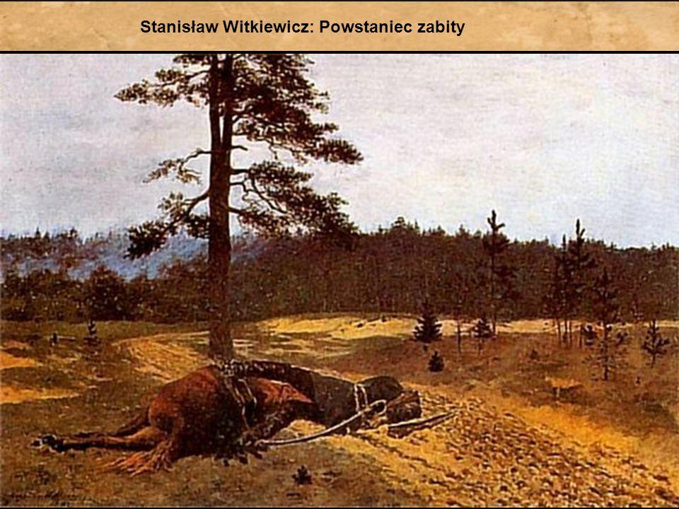 Wydarzenia, które zdecydowały o klęsce powstania III 1864r. – ogłoszenie uwłaszczenia chłopów przez cara 5 VIII 1864r. – śmierć Romualda Traugutta