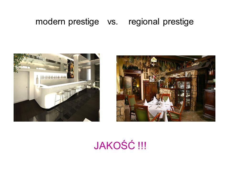modern prestige vs. regional prestige JAKOŚĆ !!!
