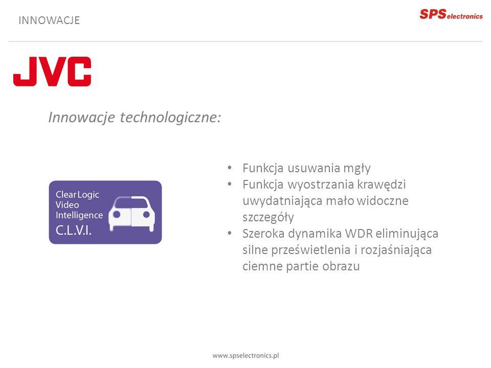 NOWA LINIA PRODUKTÓW Rozdzielczość Full HD Bardzo wysoka czułość Brak Focus assist Dwa strumienie Rejestracja na kartę SD Dwukierunkowe audio bez detekcji Charakterystyka linii