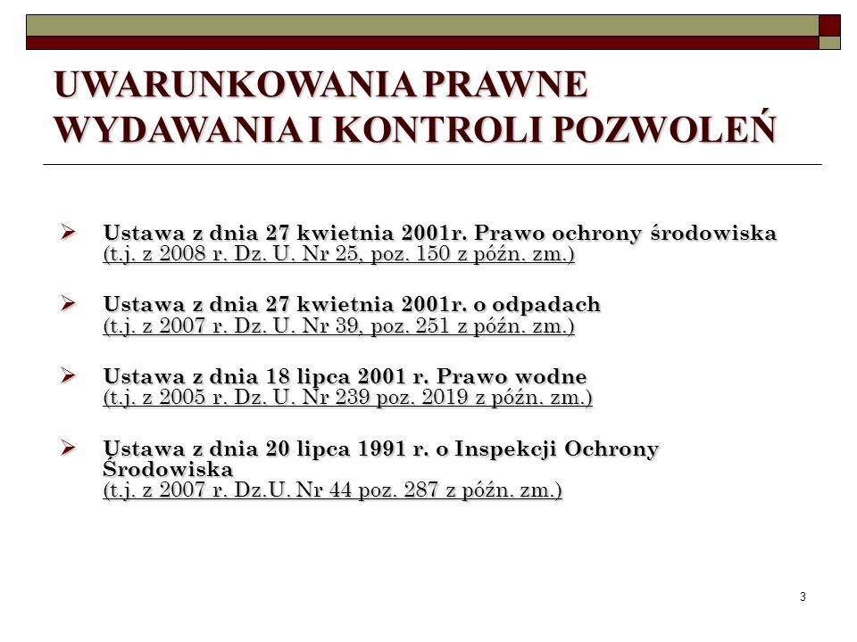 2 CEL PREZENTACJI zapoznanie z przepisami dotyczącymi wydawania pozwoleń, zapoznanie z przepisami dotyczącymi wydawania pozwoleń, zapoznanie z istniej