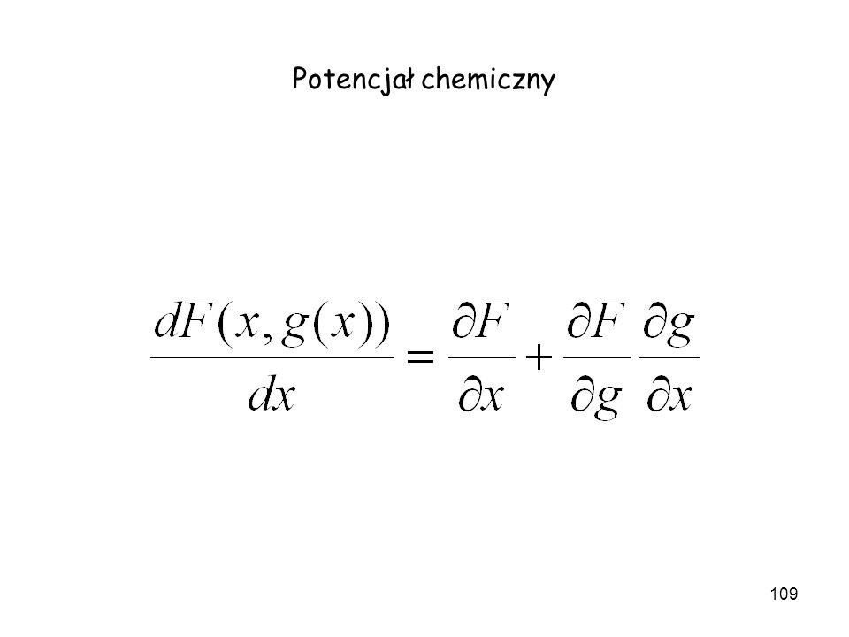 109 Potencjał chemiczny