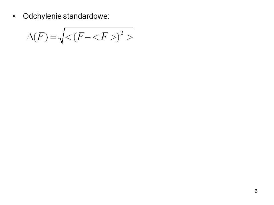 17 Z mechaniki wiemy, że dla N>3 ruch jest zazwyczaj chaotyczny, tzn.