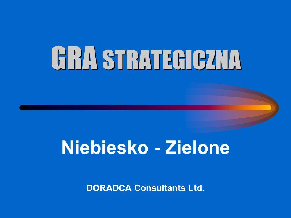 GRA STRATEGICZNA Niebiesko - Zielone DORADCA Consultants Ltd.