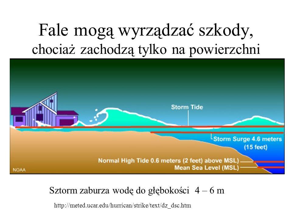 Bywają bardzo niebezpieczne kiedy ich źródło jest w głębinie oceanu http://tonytalkstech.com/2004/1 2/27/todays-tsunami/