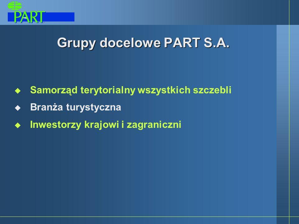 Grupy docelowe PART S.A.