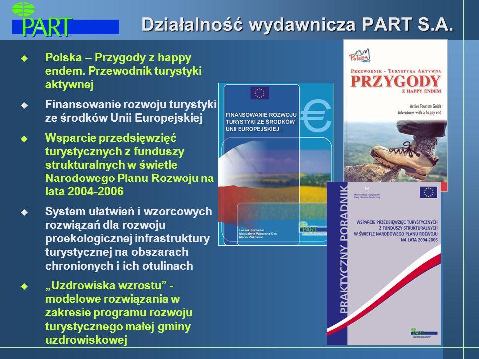 Działalność wydawnicza PART S.A.Polska – Przygody z happy endem.