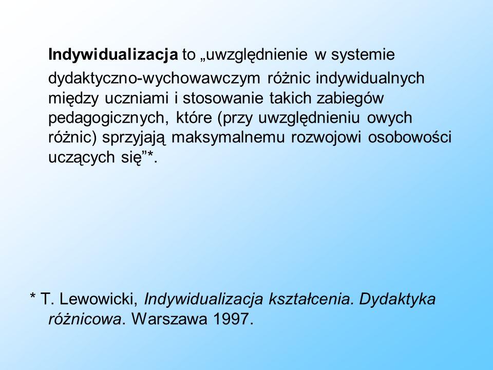 Bibliografia: J.Brophy, Motywowanie uczniów do nauki, Wydawnictwo Naukowe PWN, Warszawa 20022.