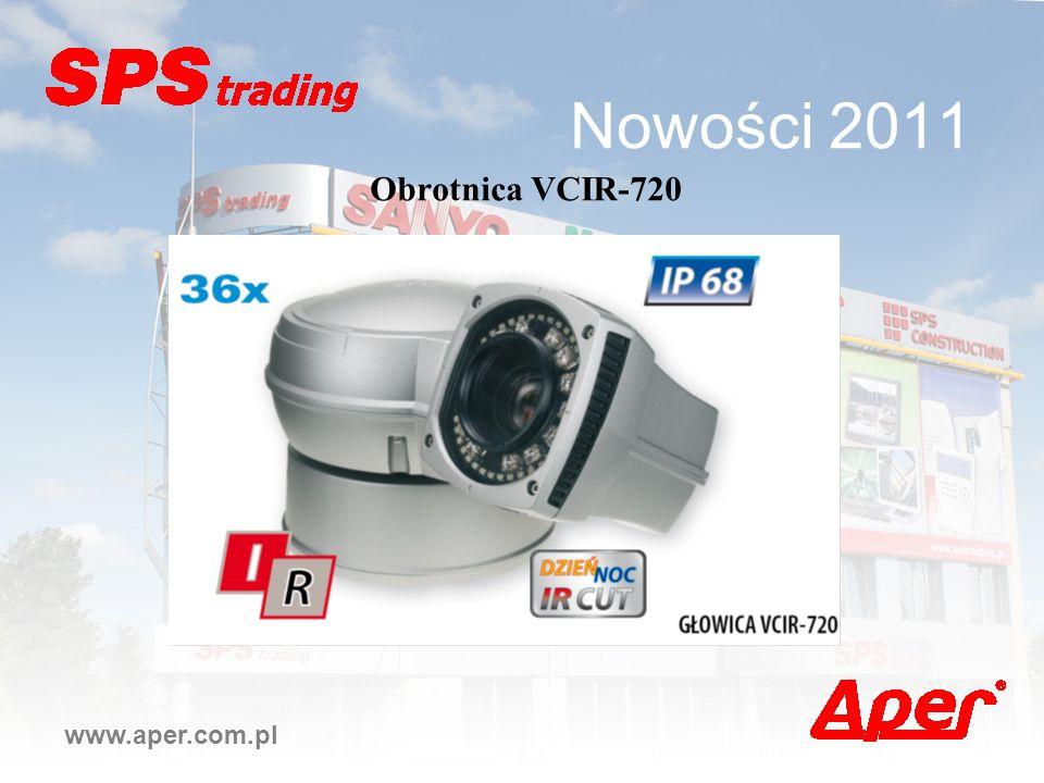 Nowości 2011 www.aper.com.pl Obrotnica VCIR-720
