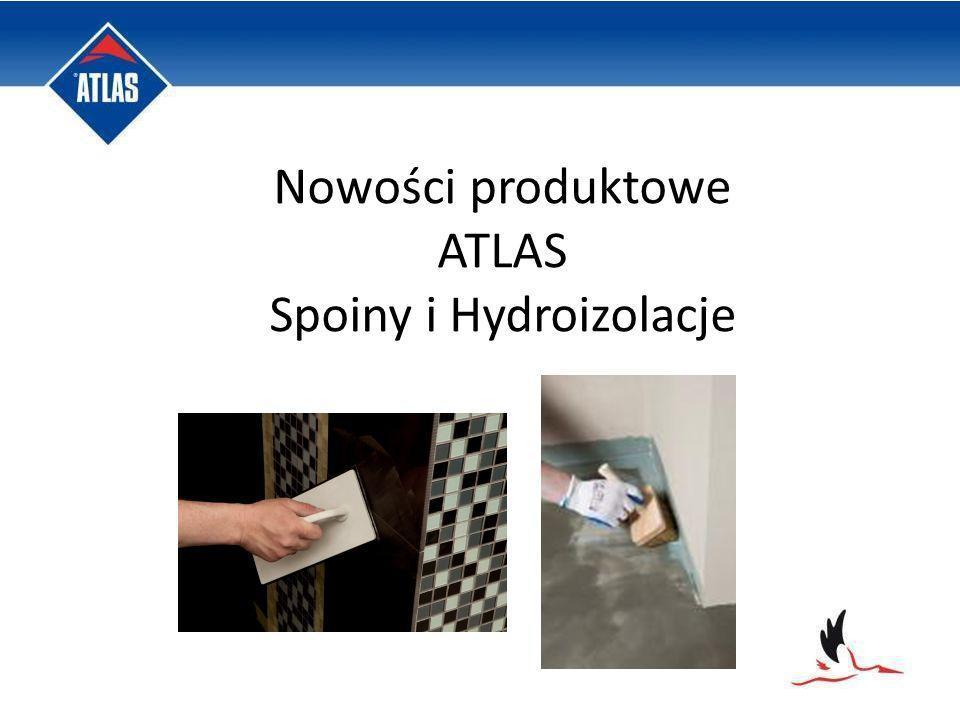 Nowości produktowe ATLAS Spoiny i Hydroizolacje