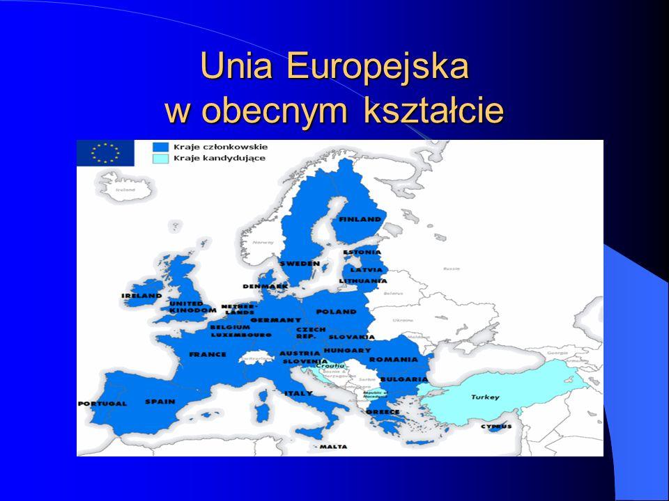 Powstanie Unii Europejskiej Fundamentalne znaczenie dla całego procesu integracji europejskiej miał Traktat o Unii Europejskiej podpisany 7 lutego 1992 roku w Maastricht.