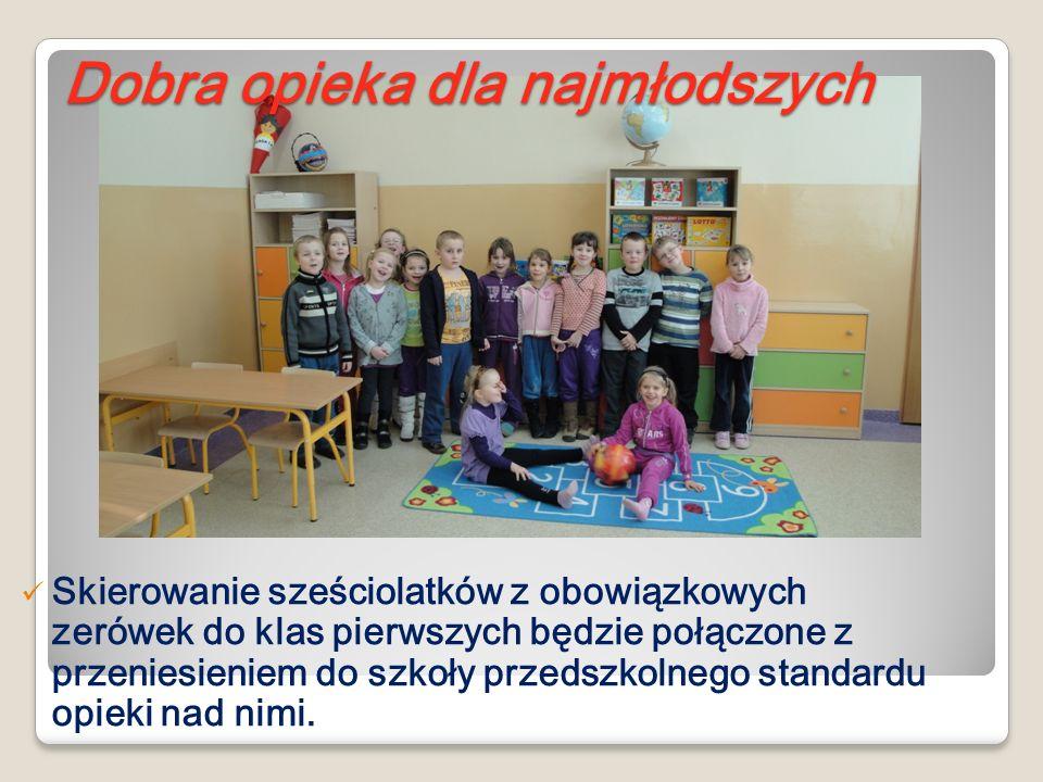 Skierowanie sześciolatków z obowiązkowych zerówek do klas pierwszych będzie połączone z przeniesieniem do szkoły przedszkolnego standardu opieki nad n