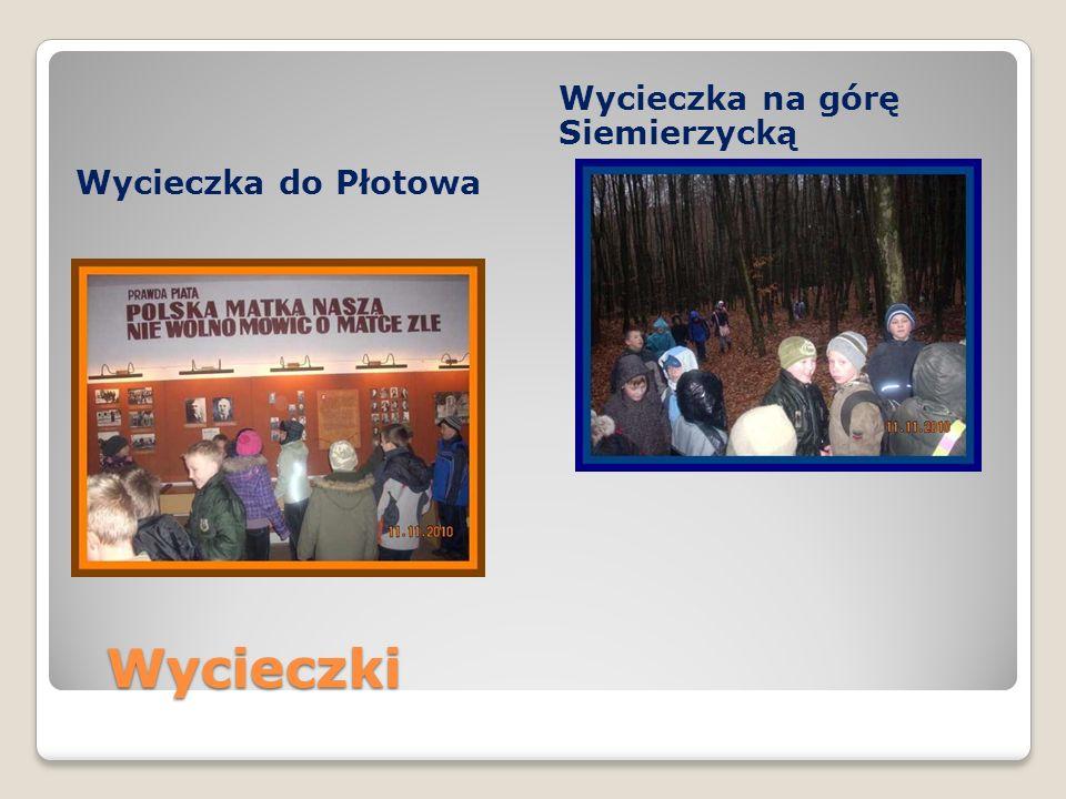 Wycieczki Wycieczki Wycieczka do Płotowa Wycieczka na górę Siemierzycką