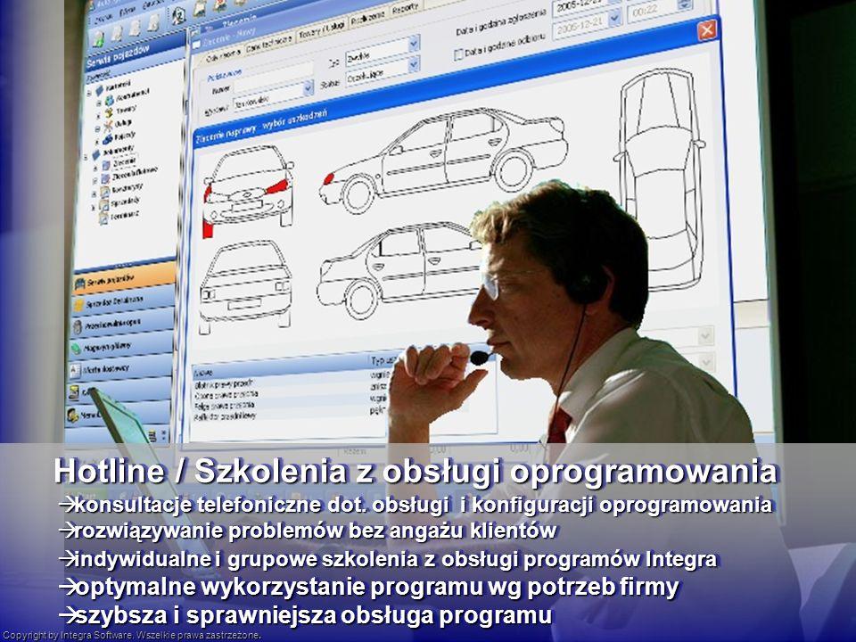 Hotline / Szkolenia z obsługi oprogramowania konsultacje telefoniczne dot.