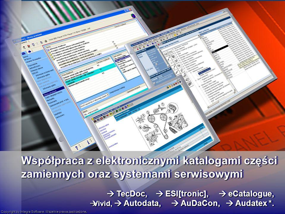 TecDoc, ESI[tronic], eCatalogue, TecDoc, ESI[tronic], eCatalogue, Vivid, Autodata, AuDaCon, Audatex *.