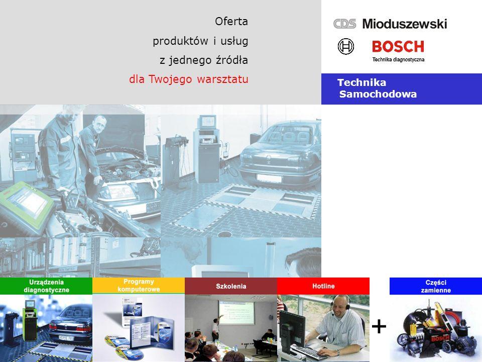 Oferta produktów i usług z jednego źródła dla Twojego warsztatu Technika Samochodowa +
