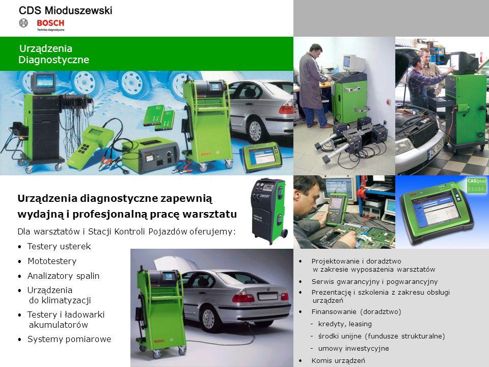 Projektowanie i doradztwo w zakresie wyposażenia warsztatów Serwis gwarancyjny i pogwarancyjny Prezentację i szkolenia z zakresu obsługi urządzeń Fina