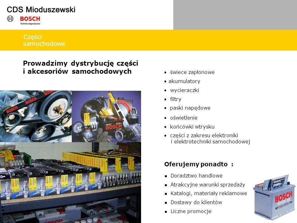 Części samochodowe Prowadzimy dystrybucję części i akcesoriów samochodowych świece zapłonowe akumulatory oświetlenie końcówki wtrysku części z zakresu