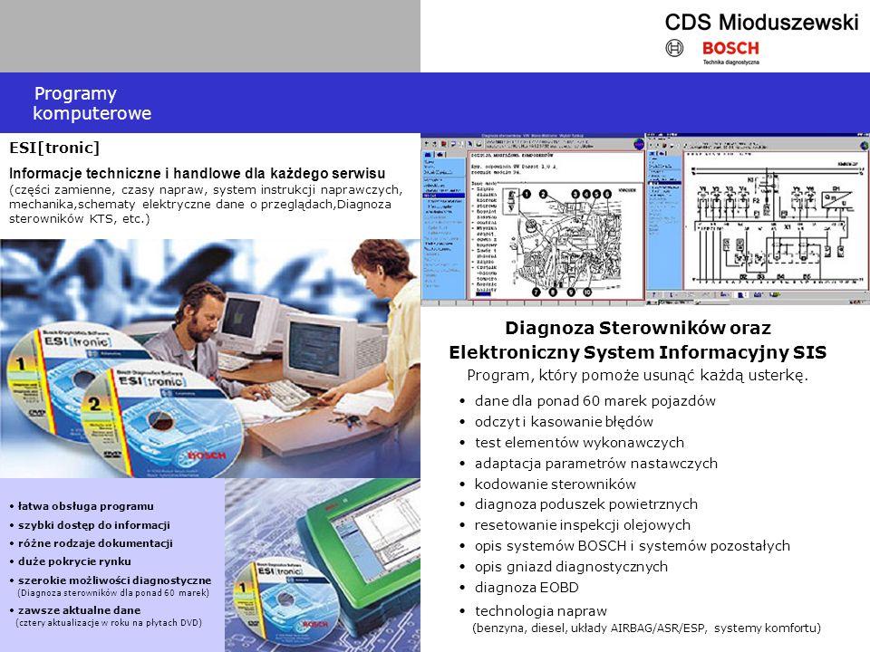 ESI[tronic] Informacje techniczne i handlowe dla każdego serwisu (części zamienne, czasy napraw, system instrukcji naprawczych, mechanika,schematy ele