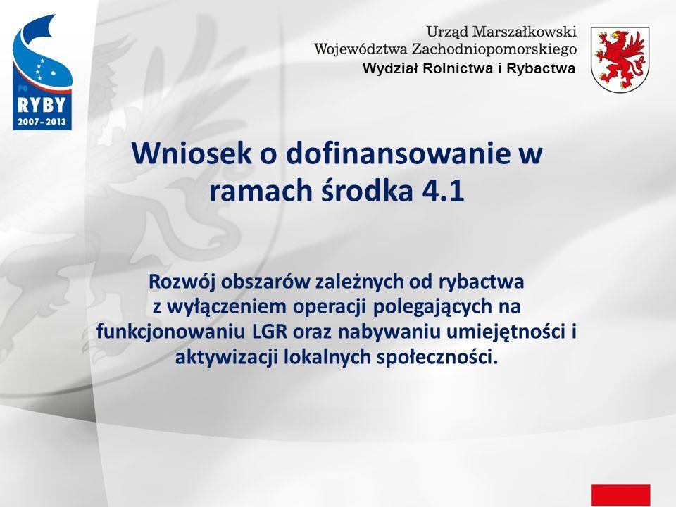 Wniosek o dofinansowanie art.10 ustawy z dnia 3 kwietnia 2009r.