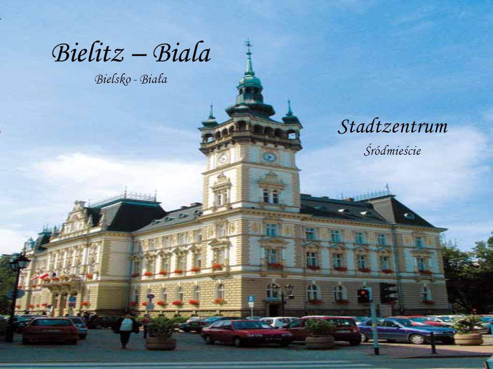 Bielitz – Biala Bielsko - Biała Stadtzentrum Śródmieście