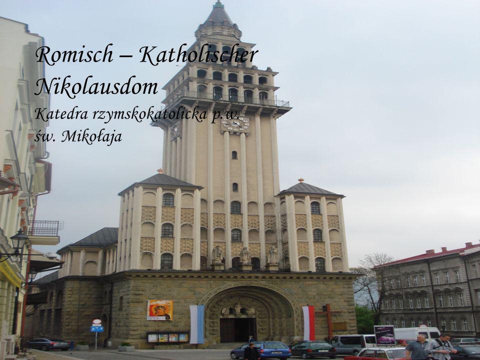 Romisch – Katholischer Nikolausdom Katedra rzymskokatolicka p.w. św. Mikołaja