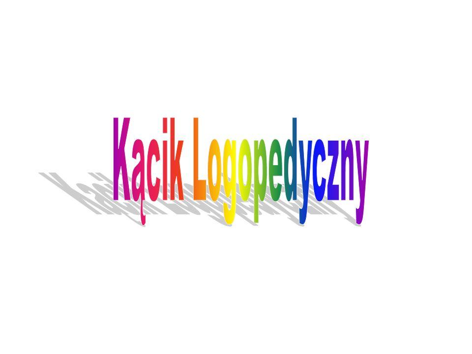 W naszym przedszkolu zajęcia logopedyczne prowadzi pani Monika Urbańska.