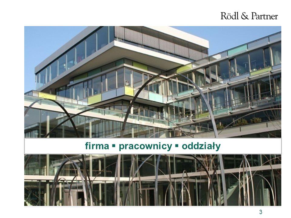 4 Firma Początek naszemu dynamicznemu rozwojowi dało: Otwarcie w 1977 kancelarii w Norymberdze Należymy do grona nielicznych firm, którym udało się o własnych siłach dołączyć do wielkich firm audytorskich i doradczych świata.