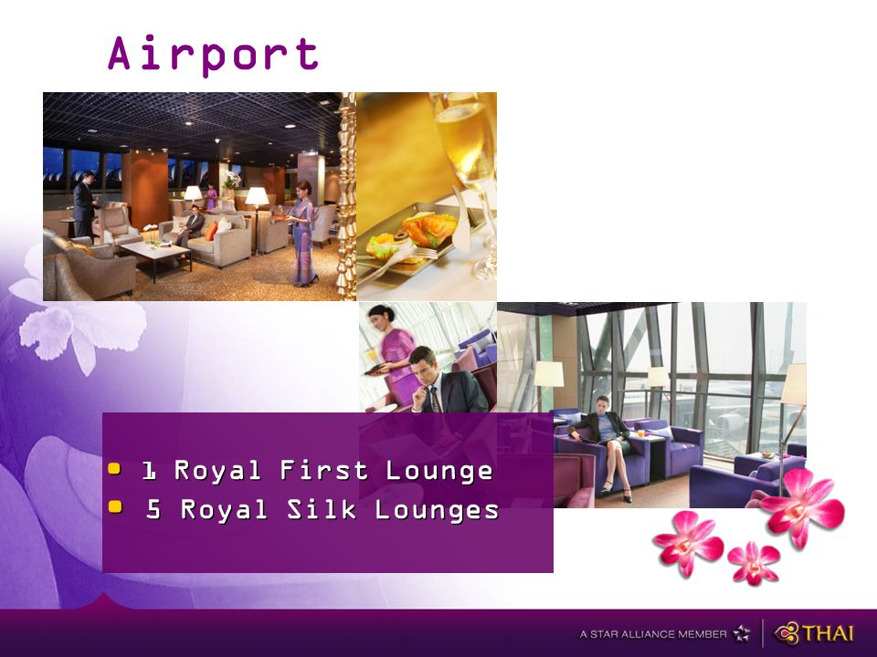 Airport Lounges 1 Royal First Lounge 5 Royal Silk Lounges 1 Royal First Lounge 5 Royal Silk Lounges