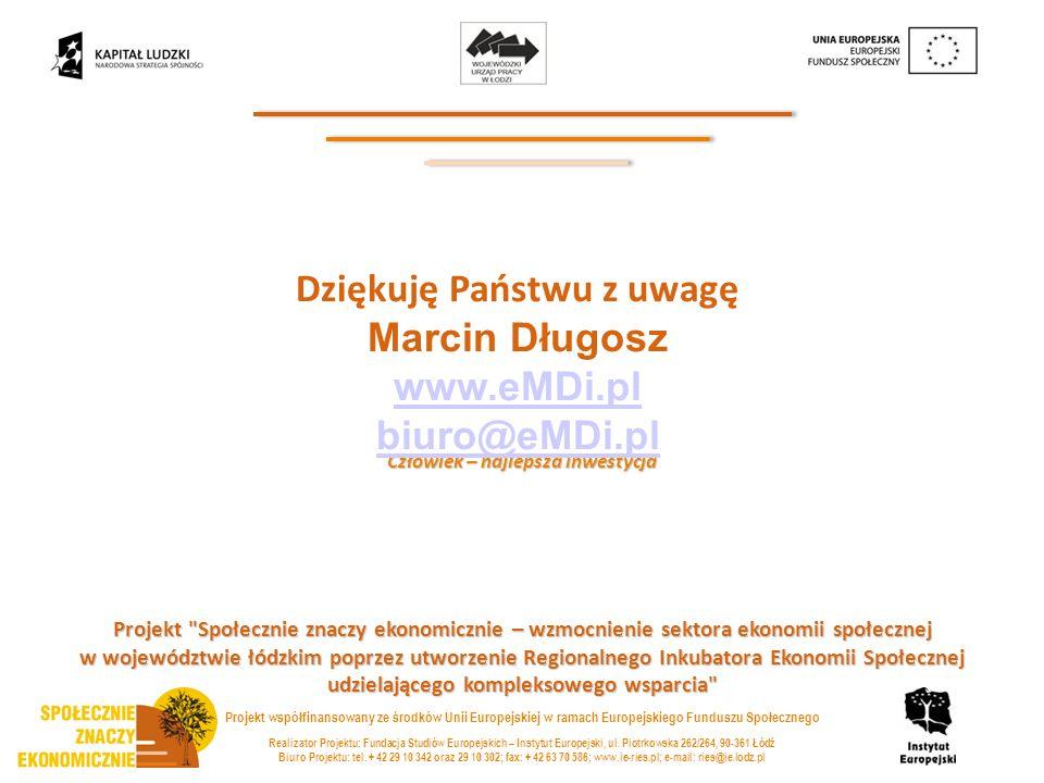 Realizator Projektu: Fundacja Studiów Europejskich – Instytut Europejski, ul.