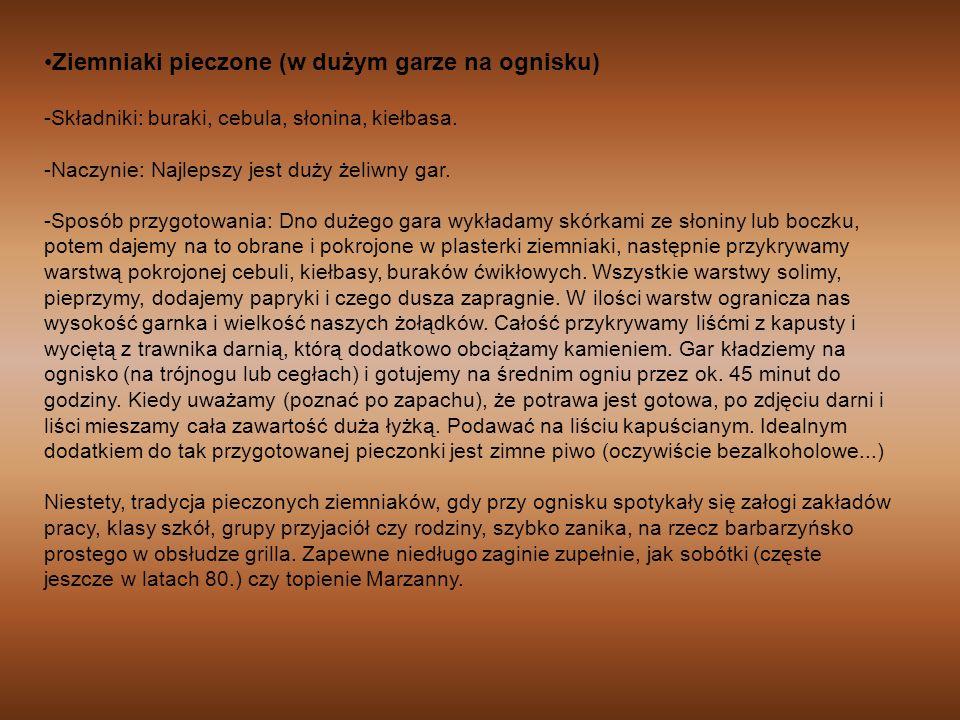 V Gwara Małopolan Zachodnich Nasz język gwarowy, czyli język naszych przodków, już jest w większości zapomniany.