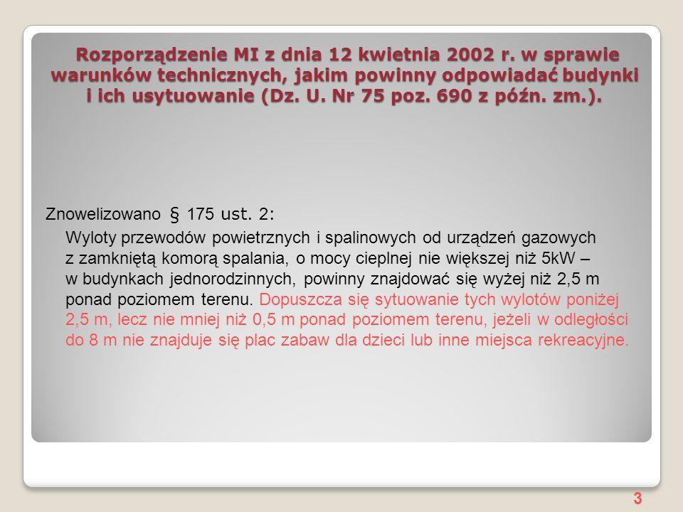 3 Rozporządzenie MI z dnia 12 kwietnia 2002 r.