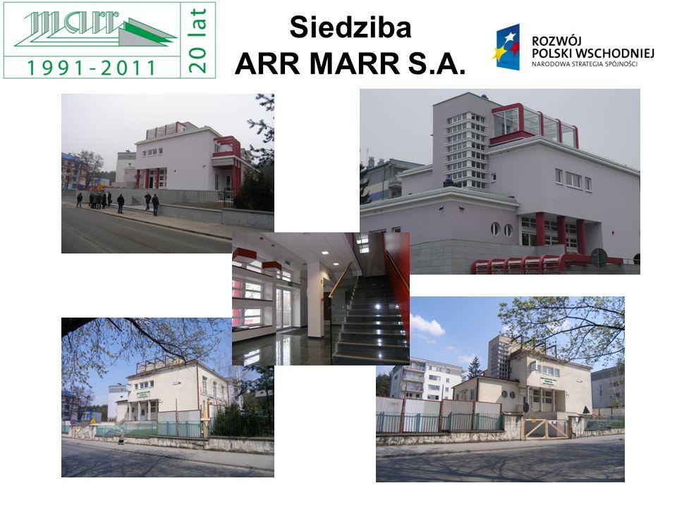 Siedziba ARR MARR S.A.