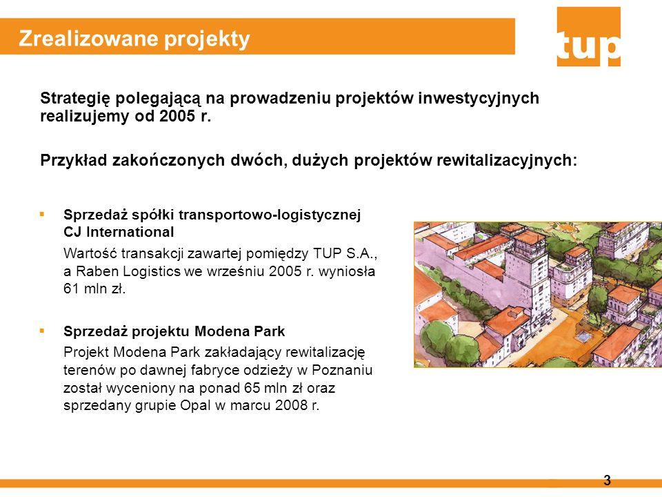3 Zrealizowane projekty Strategię polegającą na prowadzeniu projektów inwestycyjnych realizujemy od 2005 r. Przykład zakończonych dwóch, dużych projek