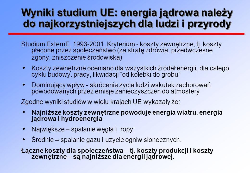 Ile będą kosztowały bloki jądrowe budowane w Polsce.