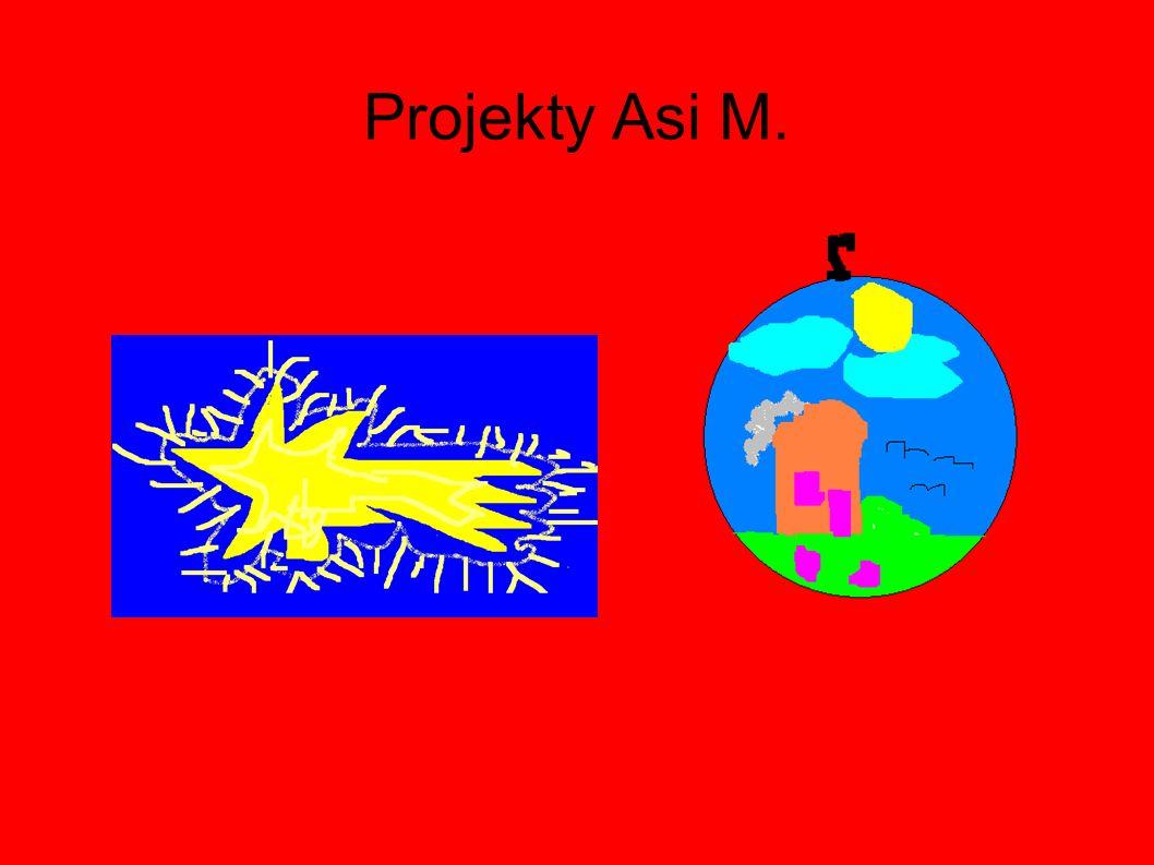 Projekty Asi M.