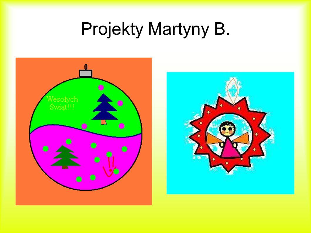 Projekty Martyny B.