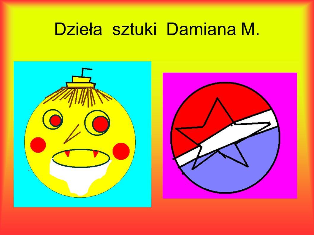Dzieła sztuki Damiana M.